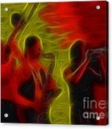 Chicago19-horns-fractal-1 Acrylic Print