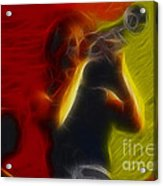 Chicago19-lee-2-fractal Acrylic Print