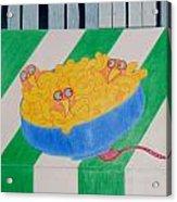 Chickadee Chick Macaroni Acrylic Print