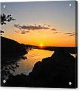 Chickies Rock Sunset 7 Acrylic Print