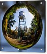 Chico Water Tower Acrylic Print