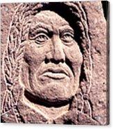 Chief-gall Acrylic Print