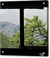 Chief Ouray Mine View Acrylic Print