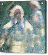Chiefs Dance Acrylic Print