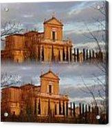 Chiesa Radopiata Acrylic Print by Halina Nechyporuk