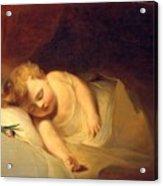 Child Asleep Acrylic Print