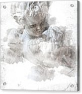 Child Cherub Acrylic Print