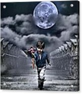 Child Of The Moon Acrylic Print