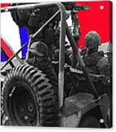 child soldier 100th anniversary parade nogales Arizona 1980-2012 Acrylic Print