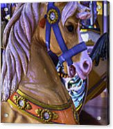 Childhood Carrousel Ride Acrylic Print