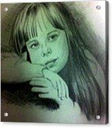 Childhood Acrylic Print by Soumya Bouchachi