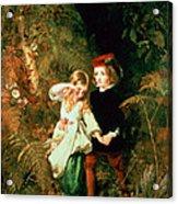 Children In The Wood Acrylic Print