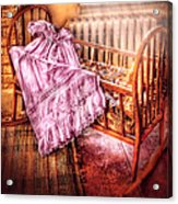 Children - It's A Girl Acrylic Print by Mike Savad