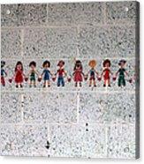 Children Of The World Acrylic Print