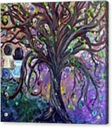 Children Under The Fantasy Tree With Jackie Joyner-kersee Acrylic Print