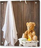 Childrens Bathroom Acrylic Print