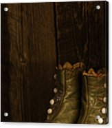 Children's Boots Acrylic Print