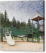 Childrens Playground At Lake Merwin Park Acrylic Print