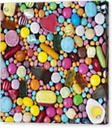 Children's Sweets Acrylic Print by Tim Gainey