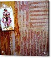 Children's Ward Clown Light Switch Acrylic Print