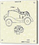 Child's Car  Acrylic Print