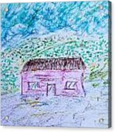 Child's Drawing Acrylic Print
