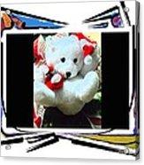 Child's Teddy Bear Acrylic Print