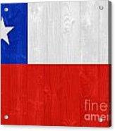 Chile Flag Acrylic Print