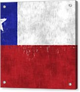 Chile Flag Acrylic Print