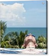 Chilled In Paradise Acrylic Print