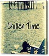 Chillen Time 1 Acrylic Print