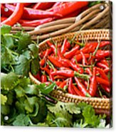Chillies 04 Acrylic Print