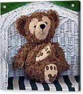 Chilling Bear Acrylic Print
