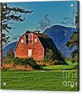 Chilliwack Barn Acrylic Print