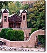 Chimayo Sanctuary Acrylic Print