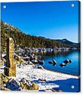 Chimney Beach - Lake Tahoe Acrylic Print