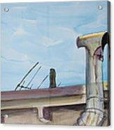 Chimney Pipe And Berkeley Sky Acrylic Print