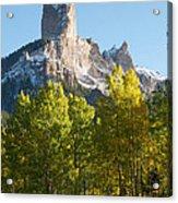 Chimney Rock - Colorado  Acrylic Print