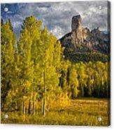 Chimney Rock San Juan Nf Colorado Img 9722 Acrylic Print