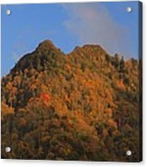 Chimney Tops In Smoky Mountains Acrylic Print