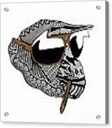 Chimp 10 Acrylic Print