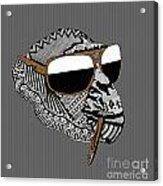 Chimp 4 Acrylic Print