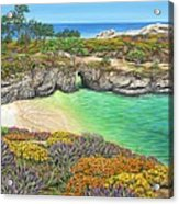 China Cove Paradise Acrylic Print
