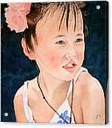 China Doll Acrylic Print