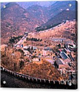 China Great Wall Adventure By Jrr Acrylic Print