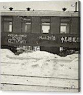China Railroad, 1918 Acrylic Print