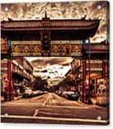 China Town Victoria Acrylic Print