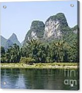 China Yangshuo County Li River  Acrylic Print
