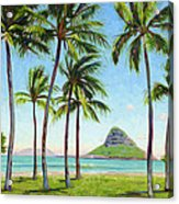 Chinamans Hat - Oahu Acrylic Print
