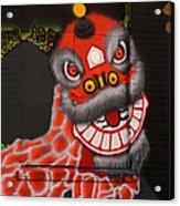 Chinatown Dragon Mural Acrylic Print